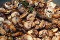 Portie gebakken champignons